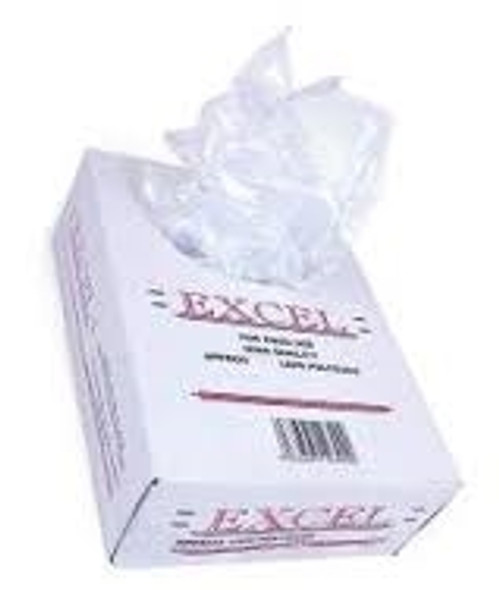 Excel or Crystal Clear Bag Polythene [15x20inch] 250G (a pack of 500)