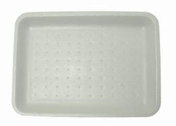 Linpac [18D] Polystyrene White Tray [265x189x20mm] a pack of 500