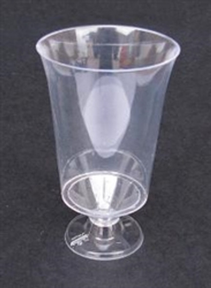 Clear Hard Disposable Wine Glasses (170ml) (a pack of 144)