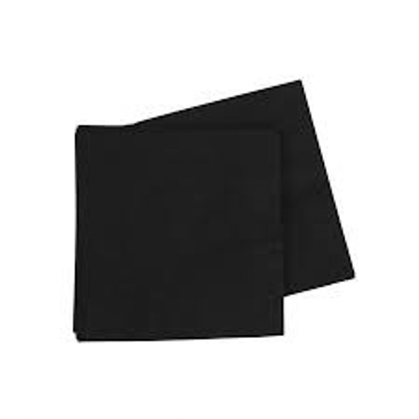 poppies Napkin Black 2ply [24x24cm] (a pack of 4000)