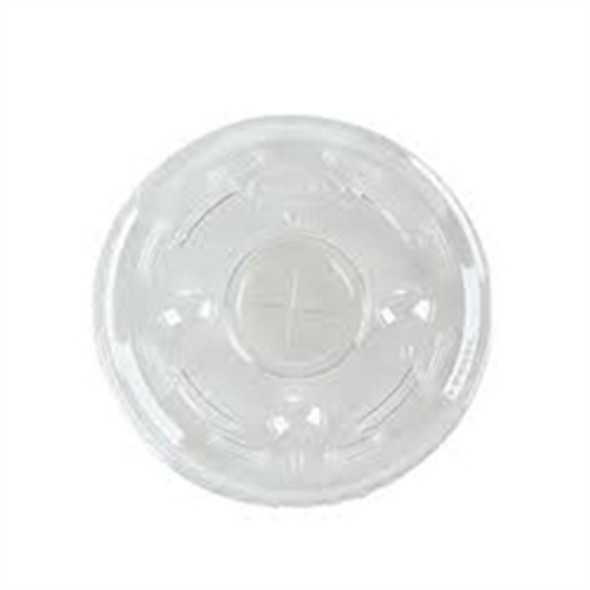 Somoplast Plastic Clear Lid Straw Slot [12,16 & 20oz] (a pack of 1000)