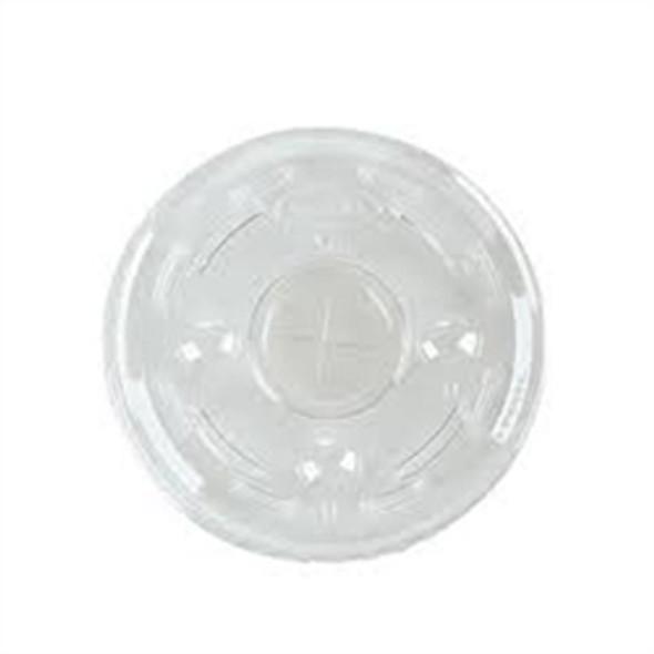 Somoplast Plastic Clear Lid Straw Slot [12,16 & 20oz] (a pack of 1000)