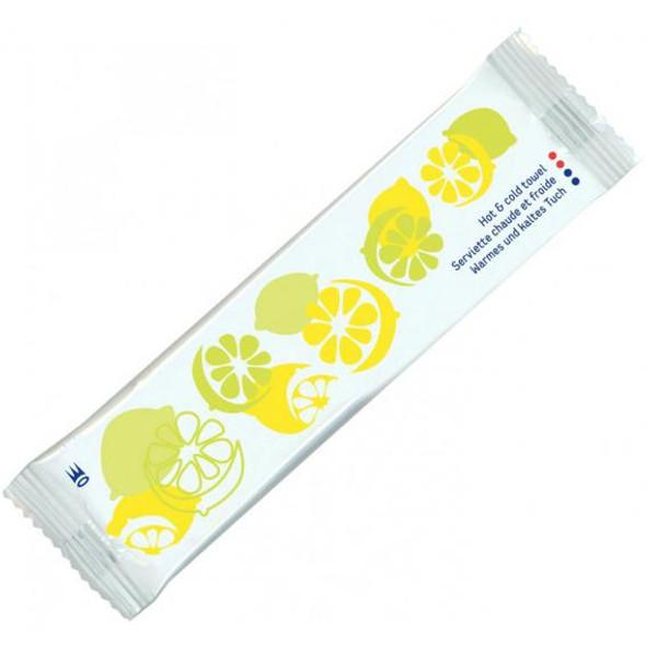 Lemon Microwaveable Wipe [16x5cm] (box of 1000)