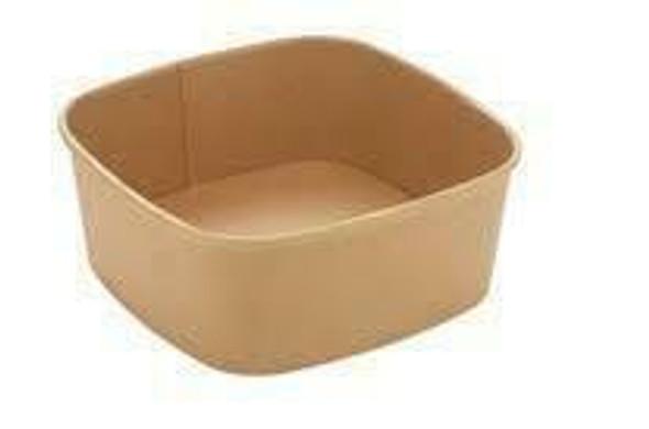 Sabert Square food Bowl 500cc / 16oz PAP14012PE just base (packs of 300)