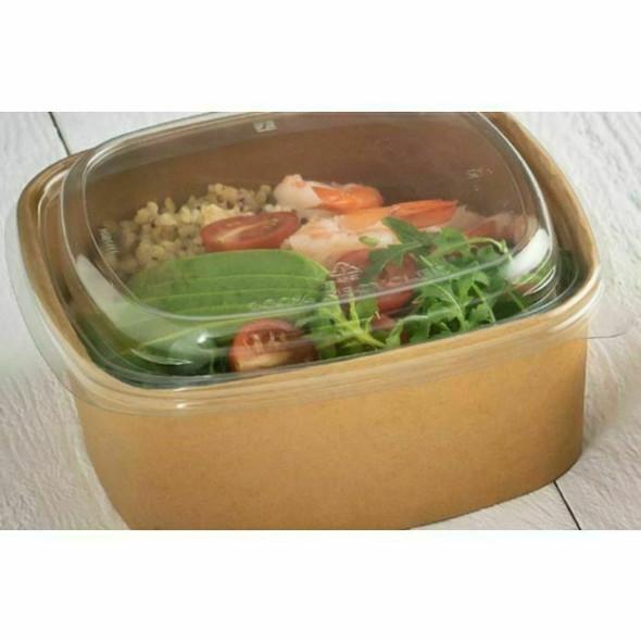 Sabert Square food Bowl 350 cc / 12oz PAP14012PE just base (packs of 300)