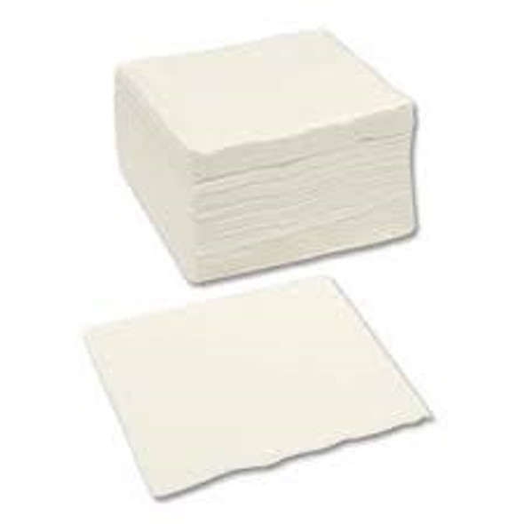 Popies Napkin White 2ply [25x25cm] (a pack of 4000)