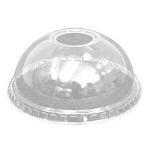 Solo [DLW626] Plastic Lid Domed [16oz] (a pack of 1000)