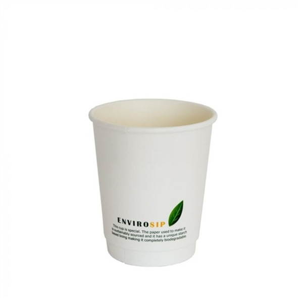 12 oz Biodegradable Paper Cup Double Wall (a pack of 500)
