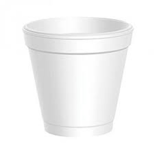 Dart [4J4] Polystyrene Cup [4oz] (118ml) (a pack of 1000)