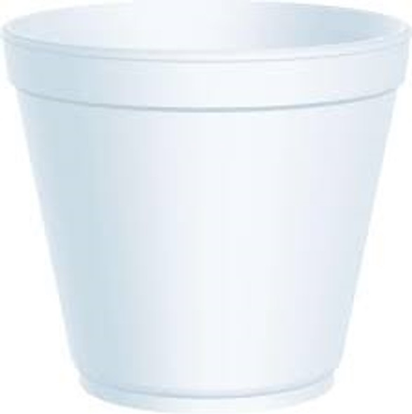 Dart [24MJ32] Polystyrene Container White [24oz] (710ml) (a pack of 500)