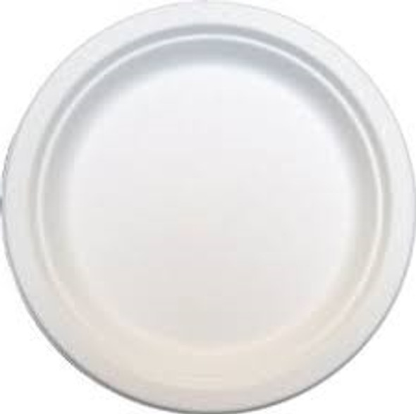 Bagasse Disposable Dinner Plate 7 inch(a pack of 1000)