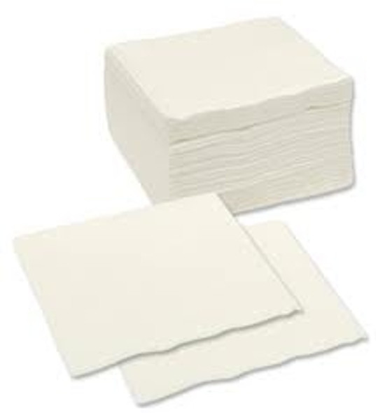 Poppies Napkin White 2ply [33x33cm] (a pack of 2000)