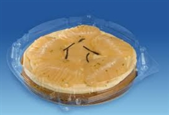 GPI Patipack [XG244] Clear Hinged Pie Pack 235x50mm (a pack of 160)