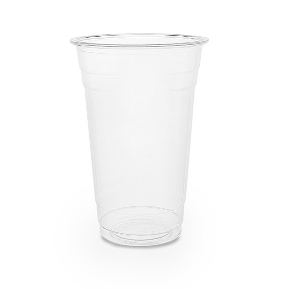 Somoplast Plastic Clear Cups [12-14oz] (400ml) (a pack of 1000)