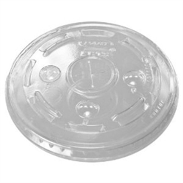 Dispo Cold Plastic Lid [16oz] Straw Slot (a pack of 1000)