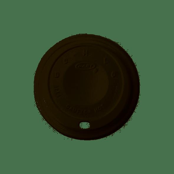 Dart [12EL] Plastic Lid Cappuccino White [12oz] (a pack of 1000)