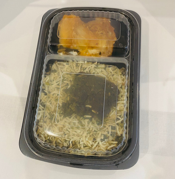 Somoplast [827L] Clear 2comp Microwavable Lid (a pack of 260)