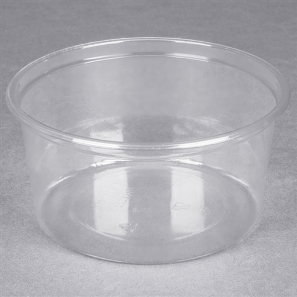 Solo [DM12R] Clear Deli Container just base [12oz] (355ml) (pack of 500)