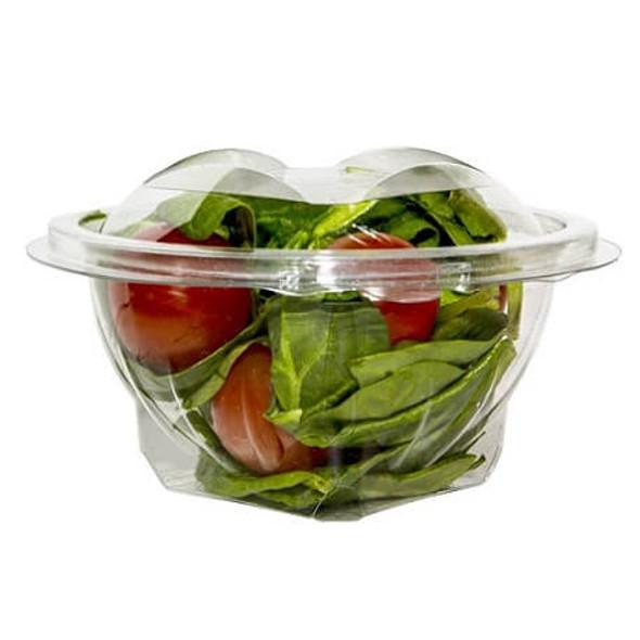 Round Salad Bowl Hinged Lid