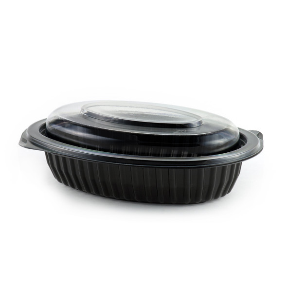 Anchor [M912B] Black Microwavable Platter [12oz] (355ml) (a pack of 250)