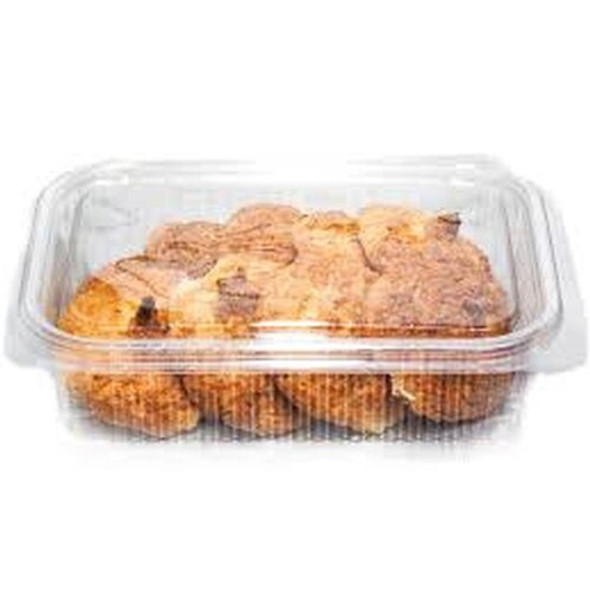 Somoplast [902] Clear Hinged Domed lid Square Container [1500cc] (a pack of 180)