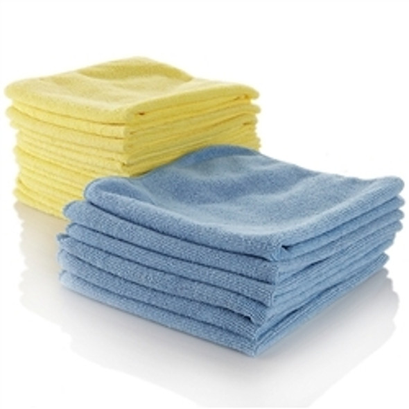 Microfiber Cloth Yellow [Pack of 10]