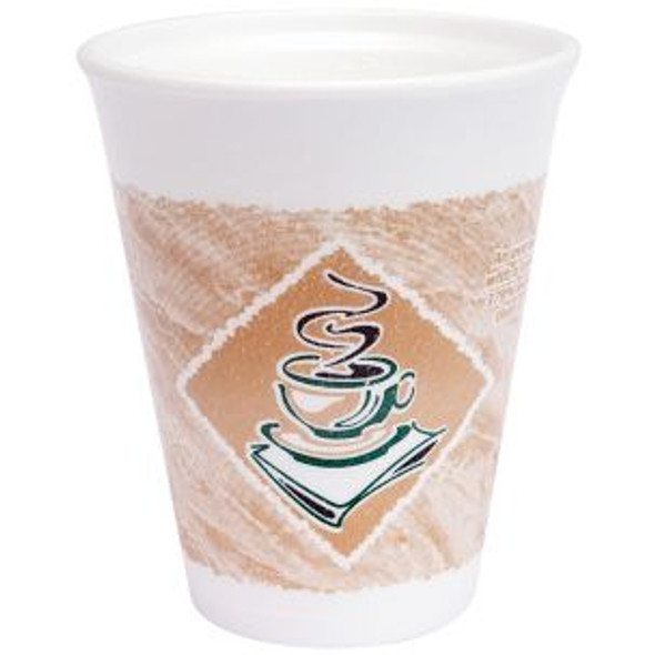 Dart [10LX10G] Polystyrene Cup Cafe G [10oz] (296ml) (a pack of 1000)