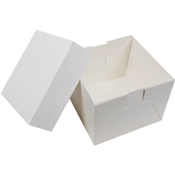 Wedding Cake Box Lid [10x10x2.5inch] (a pack of 50)
