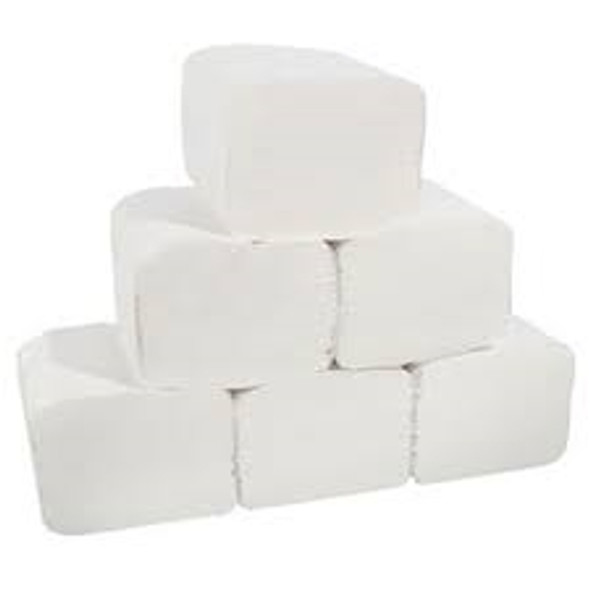 Bulk Pack Toilet Paper 2ply [102x200mm] (a pack of 9000)