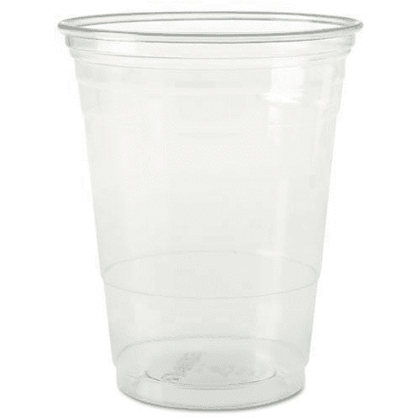Solo [TP22] Plastic Cup Clear [12oz] (354ml) (a pack of 1000)