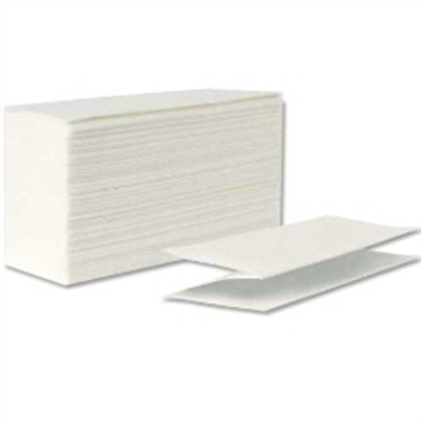 White Z-fold Hand Towel 2ply [24x24cm] (a pack of 3000 sheet)