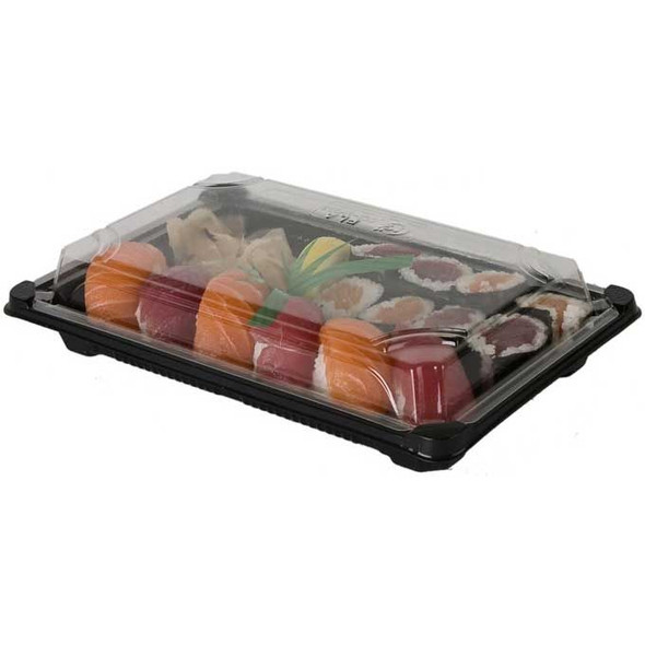 Sushi Container [QA-01] Base & Lid 6.5x4.5 inch (a pack of 500)