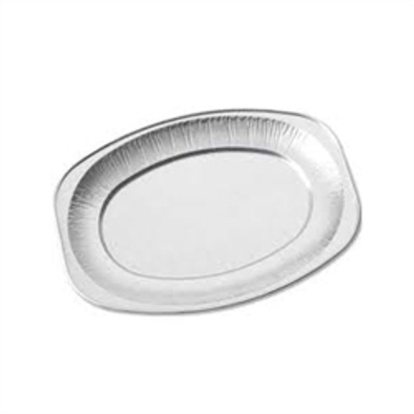 14 inch Oval Aluminium Platter (a pack of 100)