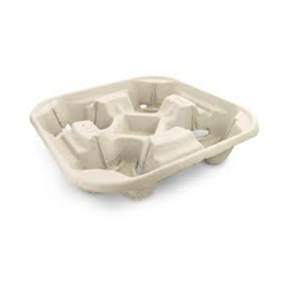 Four Cup Carry Tray [4CUP] (a pack of 180)