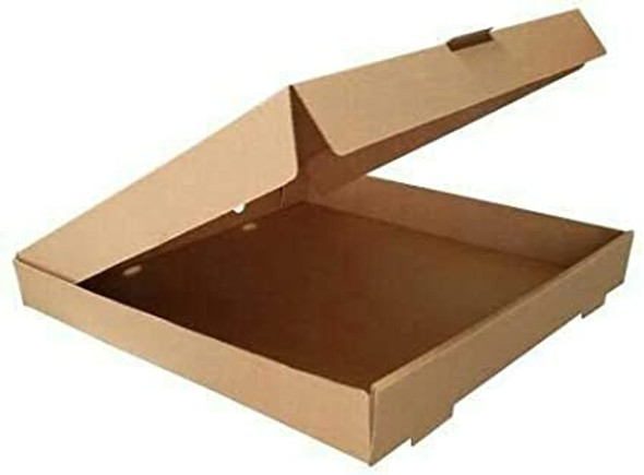 Pizza Box Brown plain [10inch] (a pack of 100)