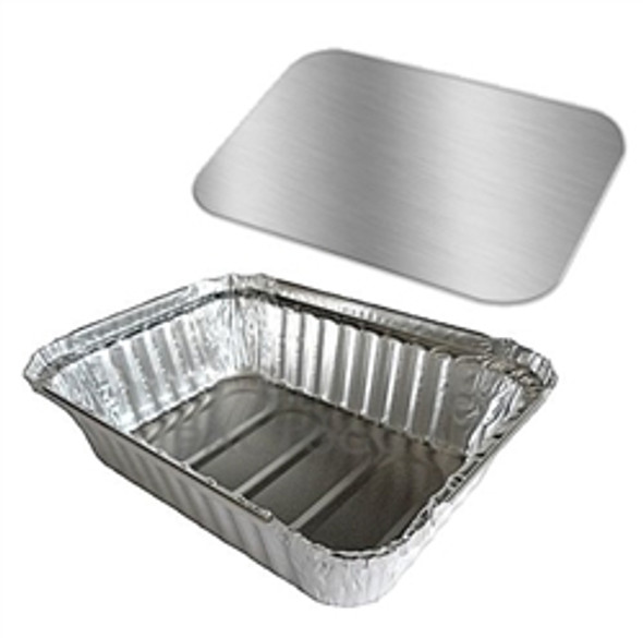 Card Board Lid for Nicholl [830860-502] Foil Container [6x8.inch] (a pack of 900)