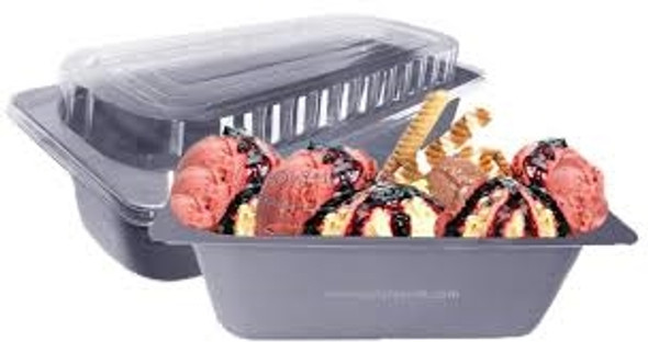 Napoli Ice Cream Tubs 5Ltr (Grey) (a pack of 140)
