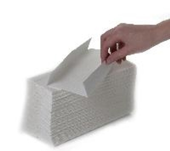 White C-fold Hand Towel 2ply [21x33cm] (a pack of 2400 sheet)