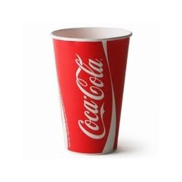 Dispo Coca Cola Paper Cup Cold [12oz] 450ml (a pack of 2000)