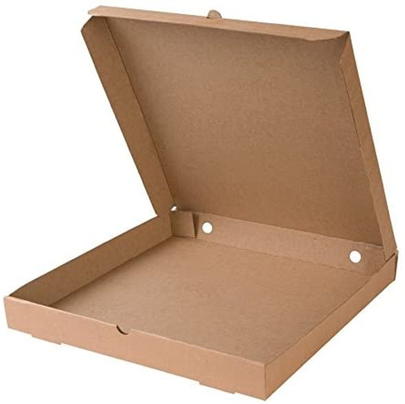 Pizza Box Brown Plain [12inch] (a pack of 100)