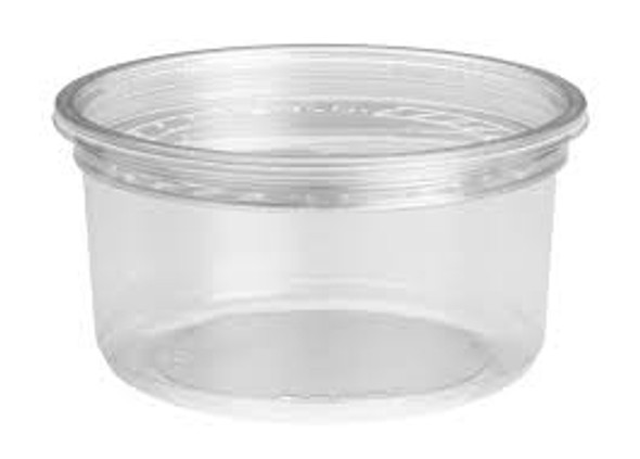 Clear Deli Lids for Somoplast [SRC250-350-500 Containers] (a pack of 500)