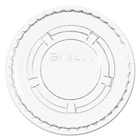 Dart [PL1N] Plastic Lid Clear [1oz] ( a pack of 2500)