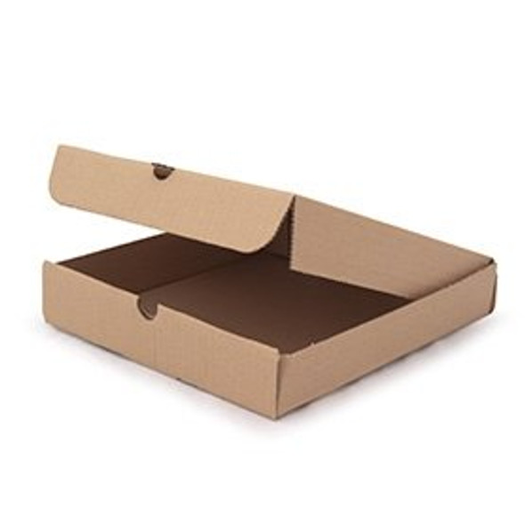 Pizza Box Brown Plain [9inch] (a pack of 100)