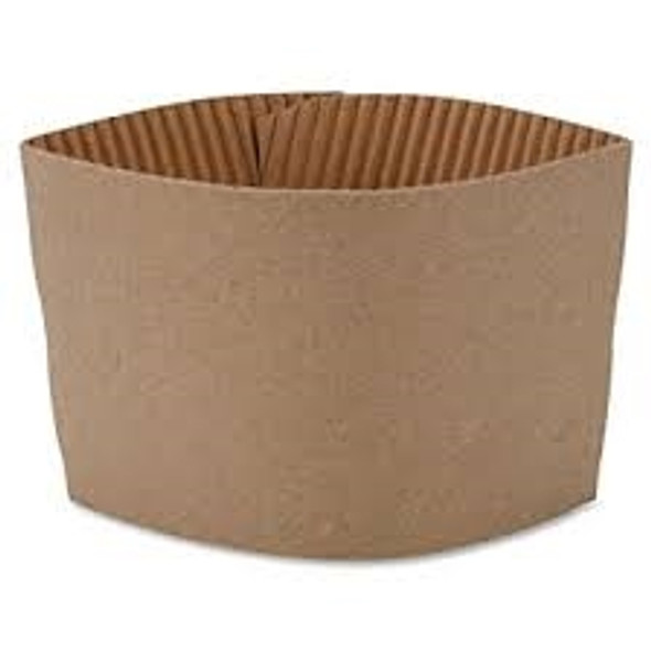 Sleeve Cup, Coffee Clutch Brown [12oz - 16oz] Plain (a pack of 1000)