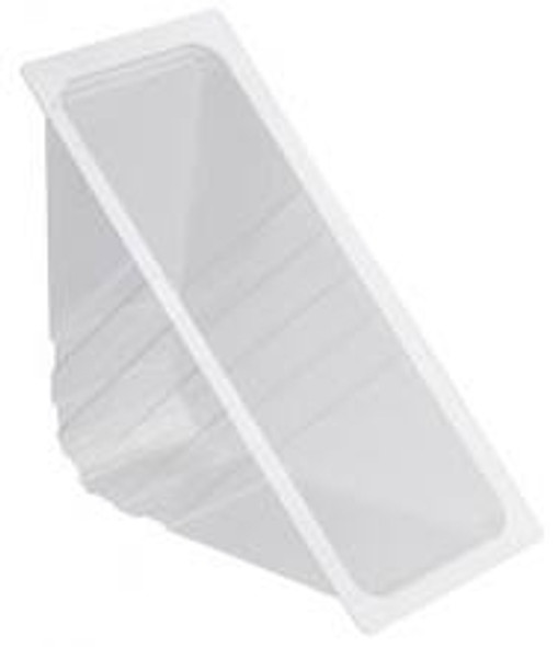 Open Deep Fill Clear Plastic Sandwich Wedge (a pack of 1400)