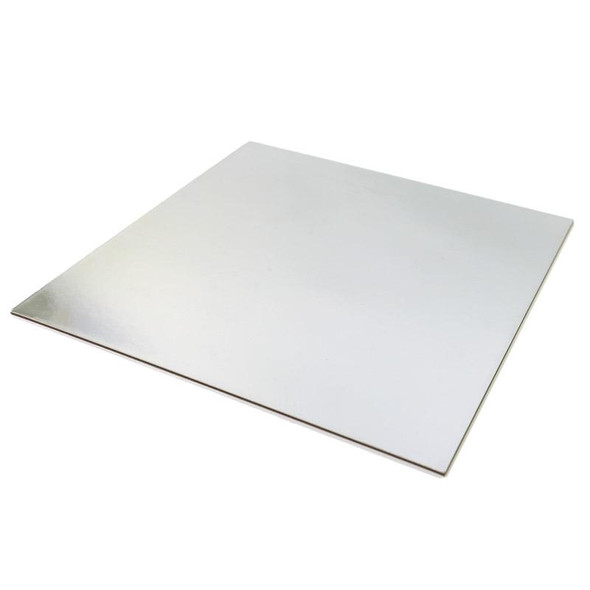 Cake Card Silver Square [8inch] (a pack of 100)