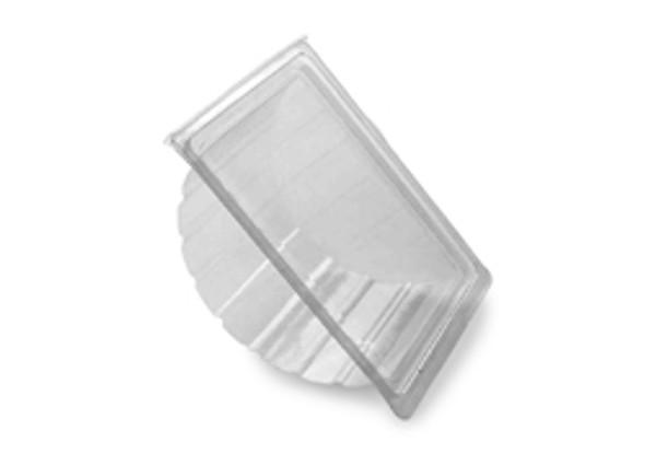 Bagel Hinged Plastic Container [RB0200] (a pack of 390)