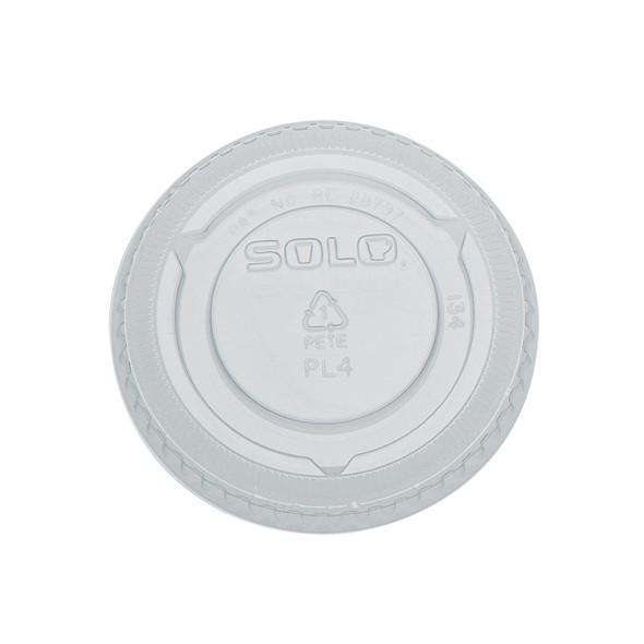 Dart [PL4N] Plastic Lid Clear [4oz] (a pack of 2500)