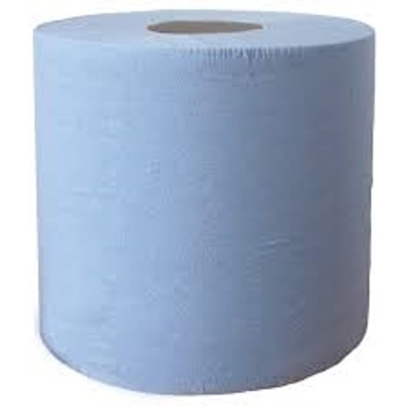 Blue Centre feed Hand Towel 2ply [195mm x 150m] 60mm core (a pack of 6 Roll)