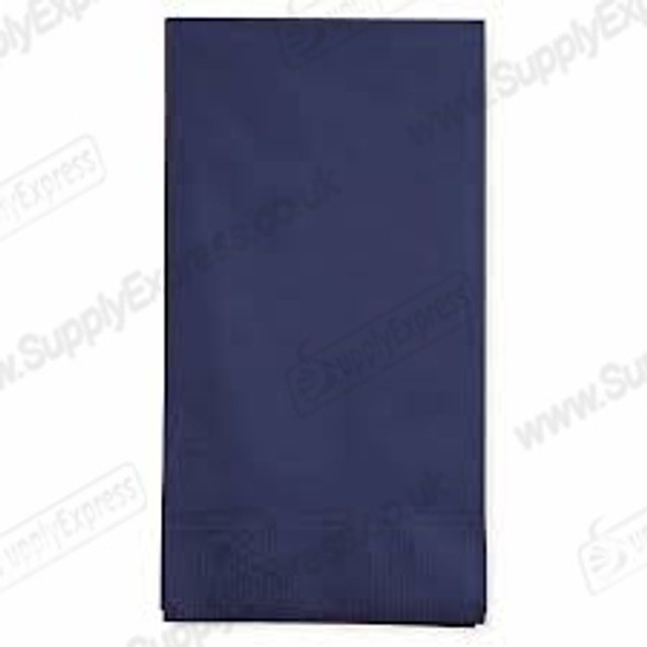 Poppies Napkin Midnight Blue 8 Fold 2ply [40x40cm] (a pack of 2000)